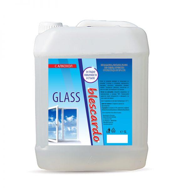 Препарат за Почистване на Стъкло с Алкохол Blescardo GLASS, 5L