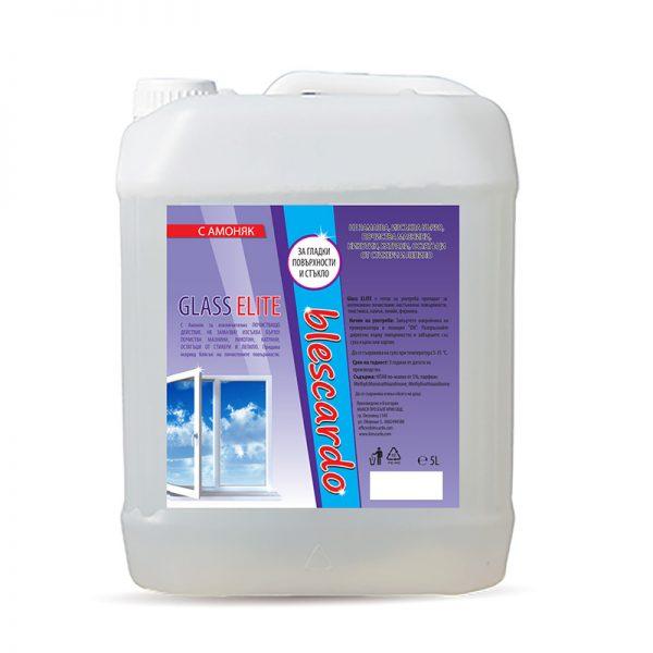 Препарат за Почистване на Стъкло с Амоняк Blescardo GLASS, 5L