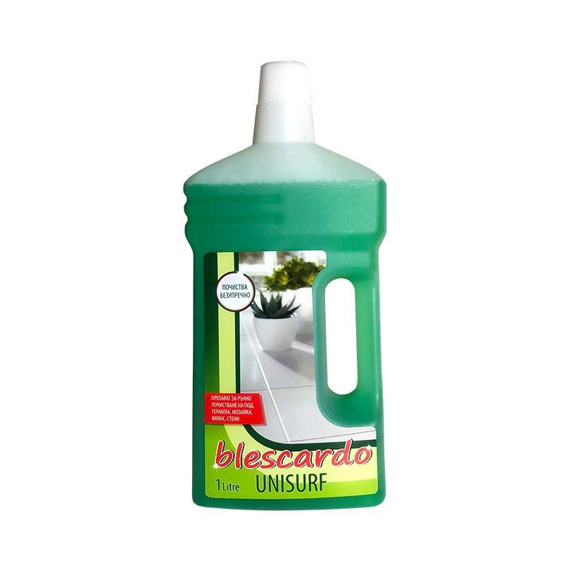 Препарат за Почистване на Твърди Подови Настилки Blescardo Unisurf, 1L