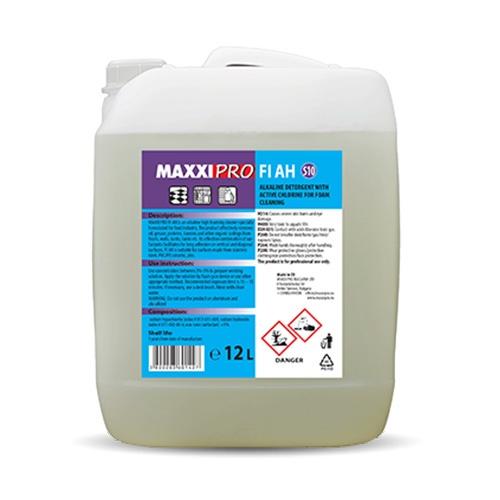 Алкален Препарат за Почистване на Работни Помещения в Индустриални Обекти FI-AH, 12L