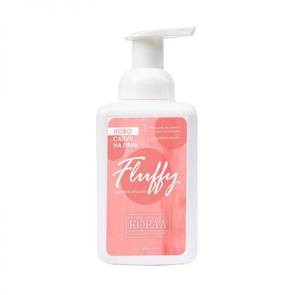 Течен Сапун за Ръце на Пяна Fluffy Корал, 500ml