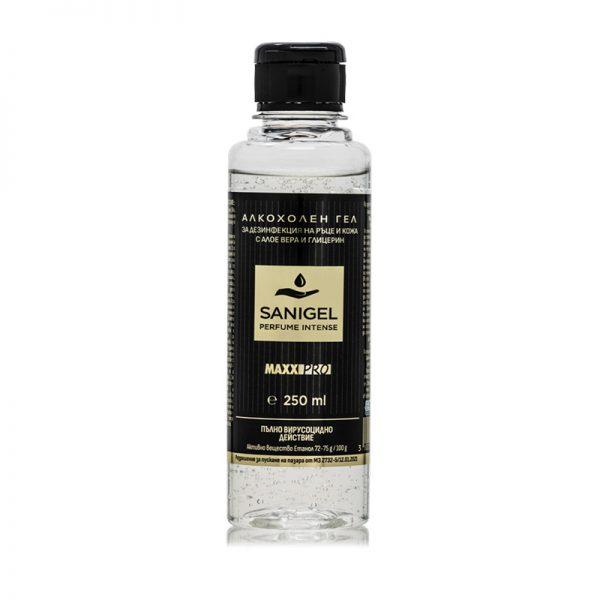 Алкохолен Дезинфектант (биоцид) за Ръце Sanigel Perfume, 250ml гел