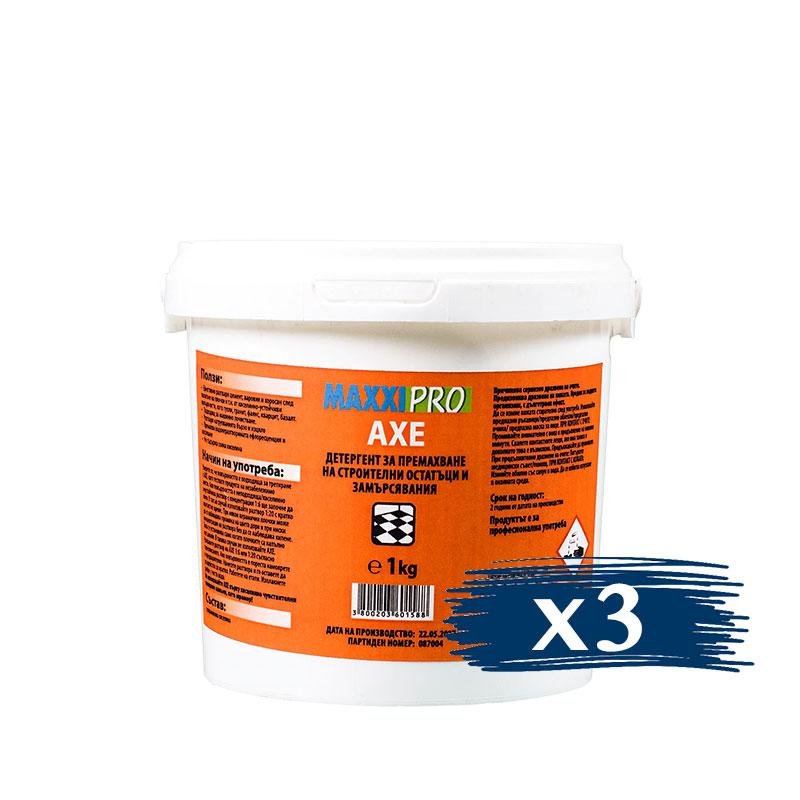 Професионален Препарат за Почистване след Ремонт AXE, 3x1KG