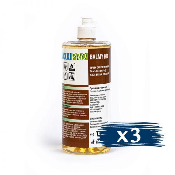 Течен Сапун за Ръце Balmy HD, 3x1L