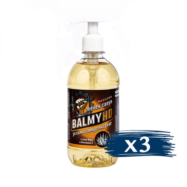 Течен Сапун за Ръце Balmy HD, 3x500ml