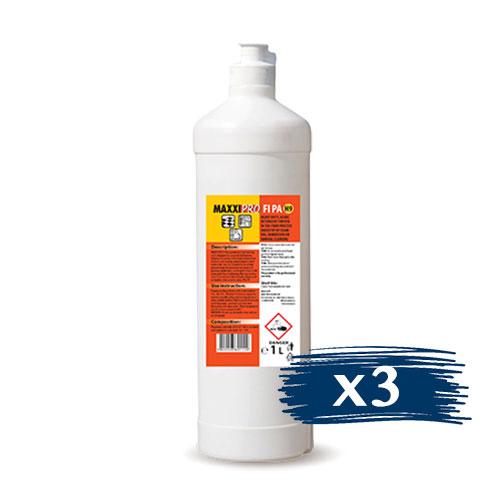 Препарат за Почистване на Тежки Замърсявания от Киселинно Устойчиви Повърхности FI-PA, 3x1L