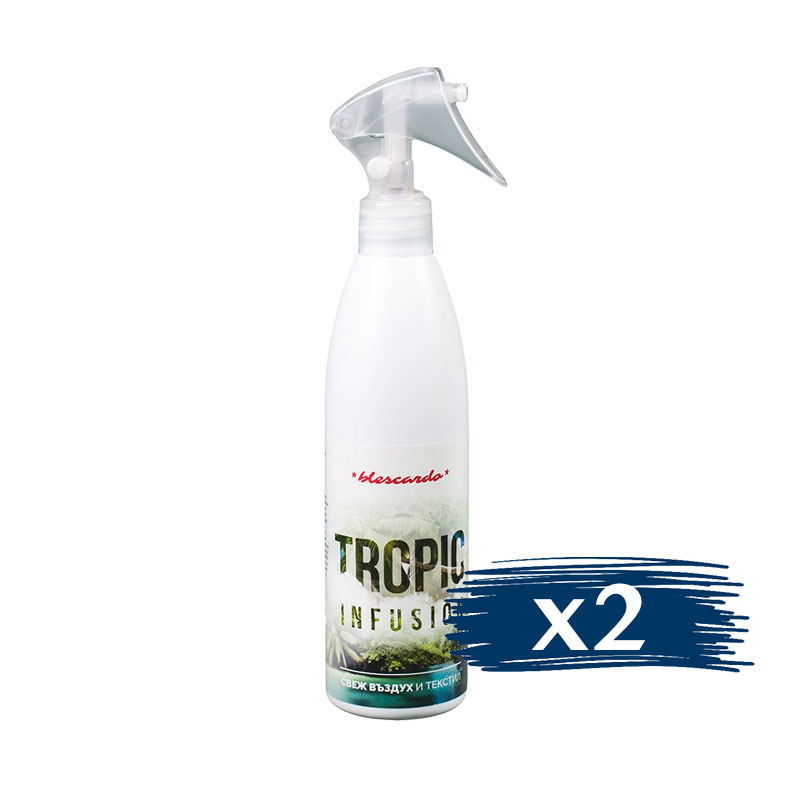 Освежител за Въздух, Ароматизатор Tropic 2x300ml