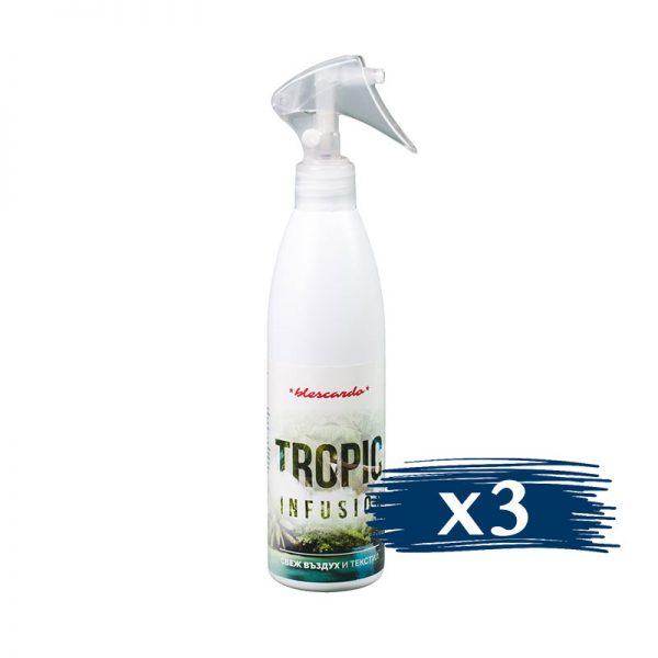 Освежител за Въздух, Ароматизатор Tropic 3x300ml
