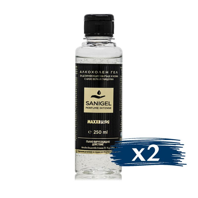 Алкохолен Дезинфектант (биоцид) за Ръце Sanigel Perfume, 2x250ml Гел