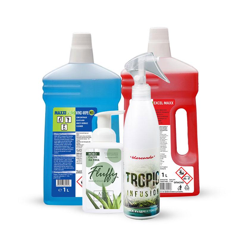 Сет Почистващи Препарати за Дома